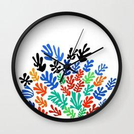 Henri Matisse - The Sheaf, Harvest Bundles of Grain Stalks portrait painting Wall Clock