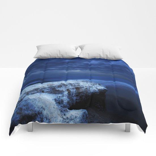 Blue water Comforters