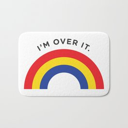 I'm Over It - Rainbow Bath Mat