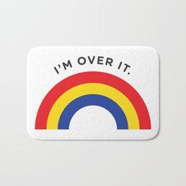 I'm Over It - Rainbow Bath Mat
