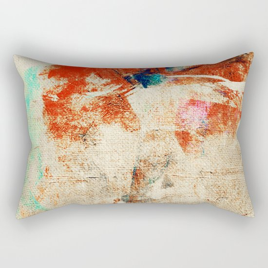 Crazy River Rectangular Pillow