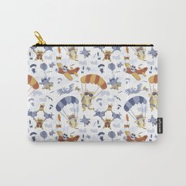 Skydiving Cats Carry-All Pouch