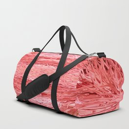 Strawberry Firegrass Quad 4 by Chris Sparks Duffle Bag