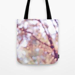 Glitter in the air Tote Bag