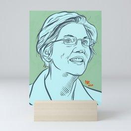 Elizabeth Warren Mini Art Print