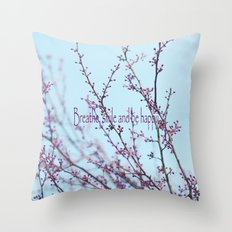 Spring Air Throw Pillow