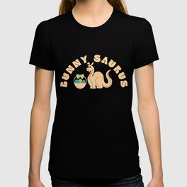 Bunny Saurus Silly Easter Dinosaur Gift T-shirt
