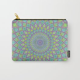 Purple Spirograph Mandala 0118 Carry-All Pouch