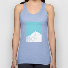Snow Capped Mountain Unisex Tank Top