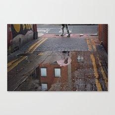 Pink umbrella Canvas Print