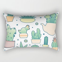 Thorny on the Outside, Ferny on the Inside Rectangular Pillow