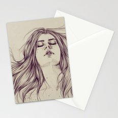 Flowing like the tide Stationery Cards