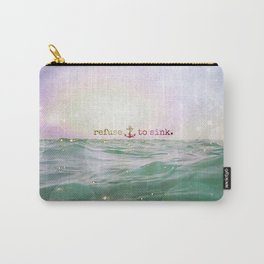 Refuse To Sink Carry-All Pouch