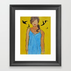 your imperfections are perfect to me... Framed Art Print