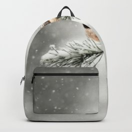 Winter Chickadee Backpack