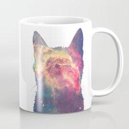 space in cat Coffee Mug
