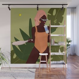 On Vacation Wall Mural