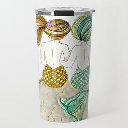 Sisters by Heart Travel Mug