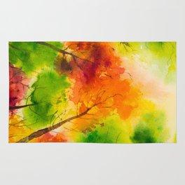 Autumn scenery #13 Rug