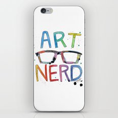 ART NERD iPhone & iPod Skin