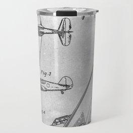 1942 Airplane Travel Mug