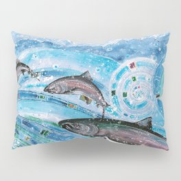 Elusive Kings of Alaska Pillow Sham