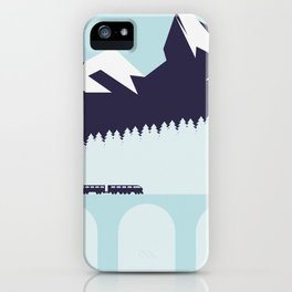 The Alps iPhone Case
