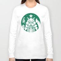 starfox Long Sleeve T-shirts featuring Starfox Coffee by Jimiyo
