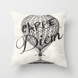 Seize The Day Throw Pillow