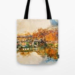 Florence, Ponte Vecchio Tote Bag