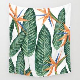 Banana And Flowers #society6 Wall Tapestry