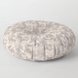 Abstract Geometrical Triangle Patterns 2 Benjamin Moore 2019 Trending Color Head Over Heels Pastel P Floor Pillow