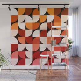 Abstract Composition 644 Wall Mural