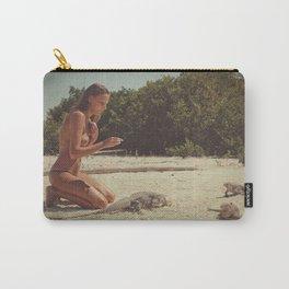 Iguana Island Carry-All Pouch