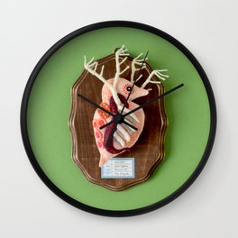 Specimen of Giant Daphnia Wall Clock