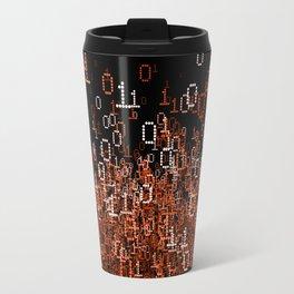 Binary Cloud II Travel Mug