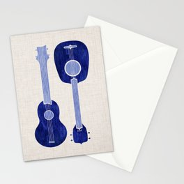 Indigo Blue Ukuleles Stationery Cards