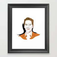 Paul Rudd Framed Art Print