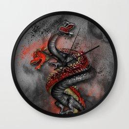 Double Dragon 2 Wall Clock
