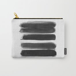 Stripes - No Comment #1 #minimal #painting #decor #art #society6 Carry-All Pouch