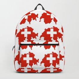 flag Switzerland 3-,Swiss,Schweizer, Suisse,Helvetic,zurich,geneva,bern,godard,heidi Backpack