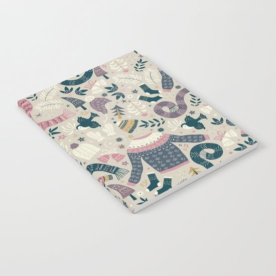 Winter Woolies Notebook
