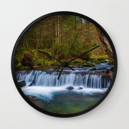 Cascada Valul Miresei, Romania Wall Clock