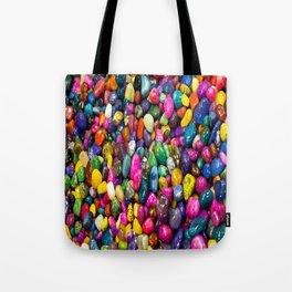 Tumbled Rock Texture Tote Bag