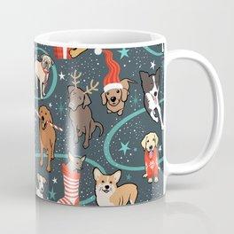 Holiday Dogs Coffee Mug