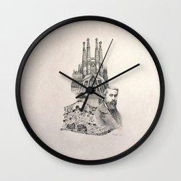 Tribute to Gaudi Wall Clock