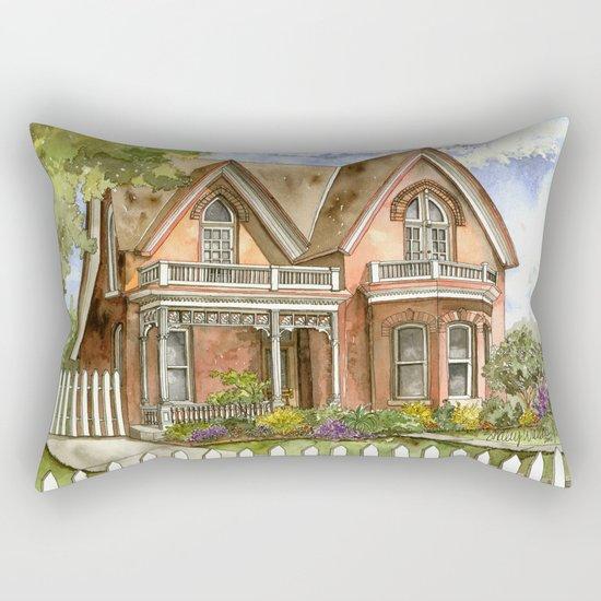 Victorian Beauty Rectangular Pillow