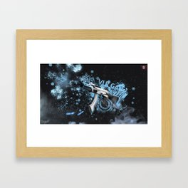 Machine Gun 13 Framed Art Print