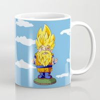 gnome Mugs featuring Gnome Sayan by Nate Galbraith