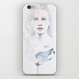pale color iPhone Skin